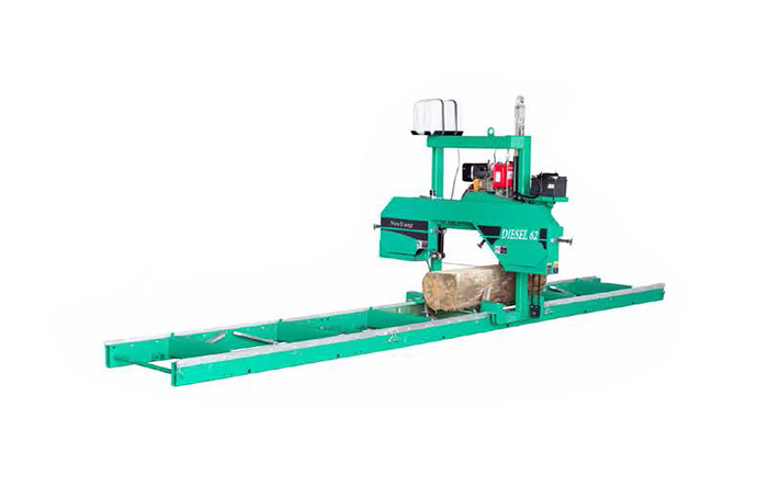 MJ375/C Horizontal band saw (Double Cylinder Diesel)