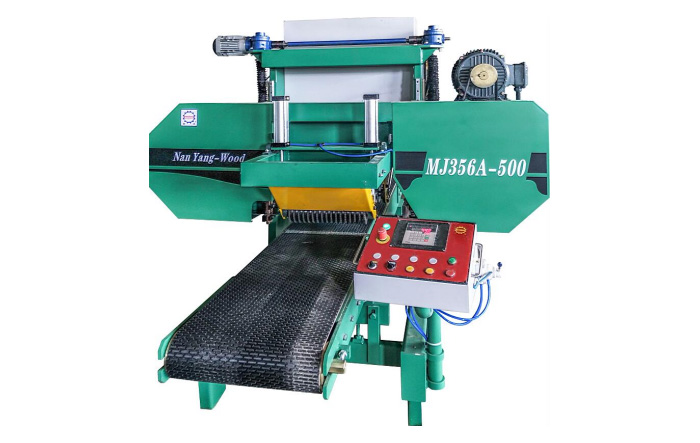 MJ356A-500 PLC programming Wood Debarking Machine
